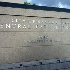 Photo taken at Santa Clara City Library by Suresh G. on 11/17/2012