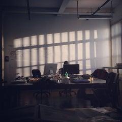 Photo taken at Hyperallergic HQ by Hrag V. on 1/3/2013