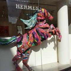 Photo taken at Hermès by Yannis S. on 7/30/2014