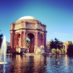 Photo taken at Palace of Fine Arts by Brett M. on 12/19/2012