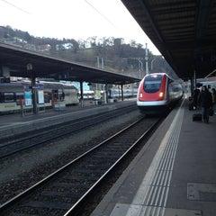 Photo taken at Bellinzona FFS by Tuula R. on 2/5/2013