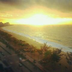 Photo taken at Praia de Itaparica by Gabriel A. on 9/16/2012