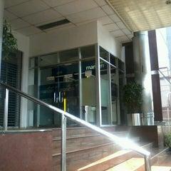 Photo taken at Bank Mandiri by umminya a. on 3/3/2013