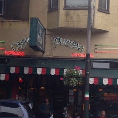Photo taken at Caffe Puccini by Dilek U. on 9/20/2014