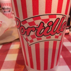 Photo taken at Portillo's Hot Dogs by Sybil D. on 2/21/2015