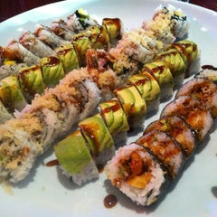 Photo taken at Sushi On The Rocks by Steve S. on 10/12/2012