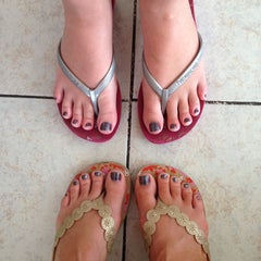 Photo taken at Serenity Nail Spa by Fran S. on 8/17/2013