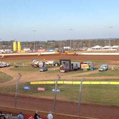 Photo taken at The Dirt Track at Charlotte Motor Speedway by Marcee A. on 11/2/2012