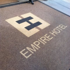 Photo taken at The Empire Hotel by Jessica w/ E. on 12/30/2012