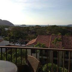 Photo taken at Club De Playa Hotel & Villas Nacazcol Playa Panamá by Andrea V. on 3/27/2013
