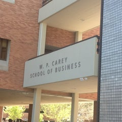 Photo taken at W. P. Carey School of Business by Ahmad A. on 3/25/2013