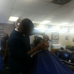 "Photo taken at Lou's Barber Shop by Dallen ""Mike"" G. on 4/20/2013"