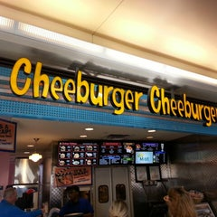 Photo taken at Cheeburger Cheeburger by William L. on 4/13/2013