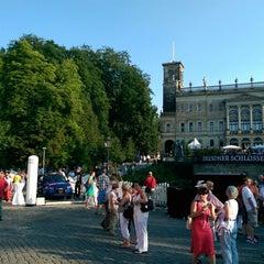 Photo taken at Schloss Albrechtsberg by Tilo M. on 7/19/2014