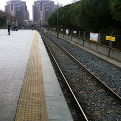 Photo taken at Yenibosna Metro İstasyonu by Barış U. on 2/23/2013