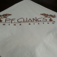 Photo taken at P.F. Chang's Asian Restaurant by Mariana V. on 4/27/2013