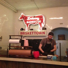 Photo taken at Delaney Barbecue: BrisketTown by Paulie G. on 5/18/2013