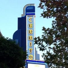 Photo taken at Rialto Cinemas Cerrito by Gabe W. on 10/15/2012