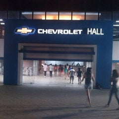 Photo taken at Chevrolet Hall by Márcio Becker S. on 11/24/2012