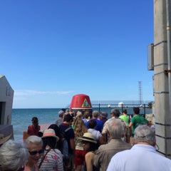 Photo taken at Southernmost Point Continental USA by Mandar J. on 3/6/2014