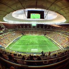 Photo taken at Estádio Jornalista Mário Filho (Maracanã) by Araruna R. on 6/16/2013