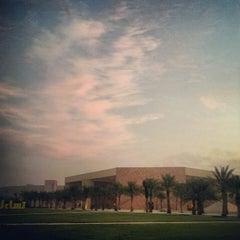 Photo taken at Texas A&M University at Qatar | جامعة تكساس إي أند أم في قطر by Abdulla A. on 11/8/2012