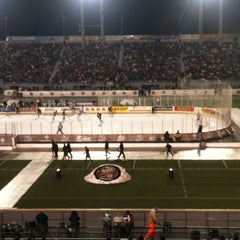 Photo taken at Hersheypark Stadium by Jesse U. on 1/20/2013