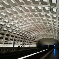 Photo taken at Crystal City Metro Station by Jennifer P. on 12/1/2012