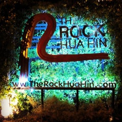 Photo taken at The Rock Hua Hin Boutique Beach Resort and Spa by Michelle v. on 2/24/2015