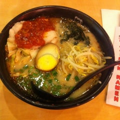 Photo taken at Ajisen Ramen by Sui Mei O. on 4/28/2013