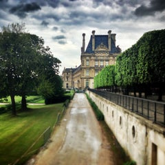 Photo taken at Jardin des Tuileries by Jessica M. on 5/17/2013
