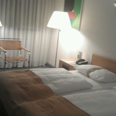 Photo taken at Holiday Inn Berlin City West by Max M. on 2/4/2013