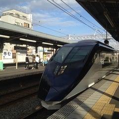 Photo taken at 千住大橋駅 (Senjuōhashi Sta.) (KS05) by Jun I. on 10/10/2012