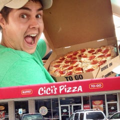 Photo taken at CiCi's Pizza by Zachary C. on 7/25/2015
