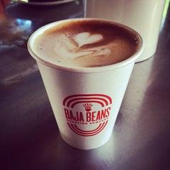 Photo taken at Baja Beans Roasting Company by Ilhuicamina J. on 7/9/2014