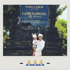 Photo taken at Pura Luhur Candi Narmada Tanah Kilap by Aldi P. on 4/11/2015
