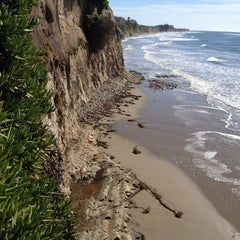 Photo taken at Isla Vista Beach by Jeff P. on 2/16/2014