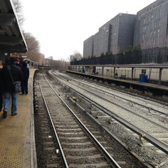 Photo taken at Metro North - Fordham Train Station by Sophie on 3/25/2013