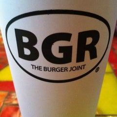 Photo taken at BGR The Burger Joint by Meredith G. on 9/24/2013