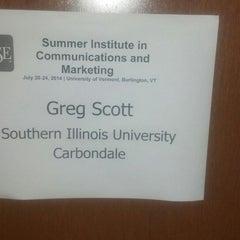 Photo taken at UVM Dudley H. Davis Center by Greg S. on 7/21/2014