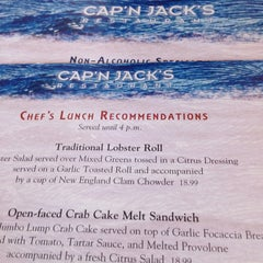 Photo taken at Cap'n Jack's Restaurant by Mabel M. on 8/11/2013