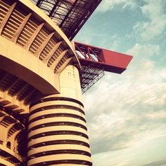 """Photo taken at Stadio San Siro """"Giuseppe Meazza"""" by Alberto L. on 6/9/2013"""