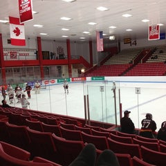 Photo taken at Walter Brown Arena by Jessie :. on 12/28/2012