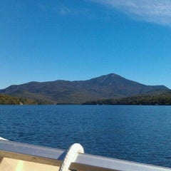 Photo taken at Lake Placid Marina by Kristen S. on 9/11/2011