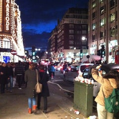 Photo taken at Knightsbridge by Kabelo on 11/10/2012