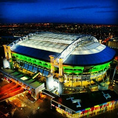 Photo taken at Amsterdam ArenA by Marc W. on 1/16/2013