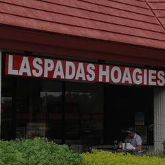 Photo taken at Laspada's Original Hoagies by @resseinthecity on 10/2/2012