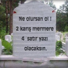 Photo taken at Soğukkuyu Mezarlığı by Emrah K. on 3/10/2015