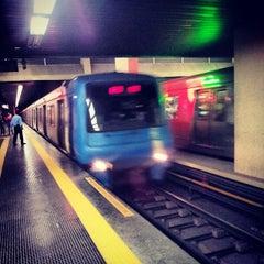 Photo taken at MetrôRio - Estação Carioca by Guilherme S. on 10/9/2013