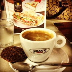 Photo taken at Fran's Café by Marcos L. on 2/9/2013
